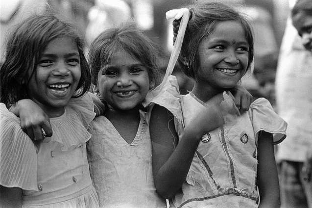 Laughing girls, Mumbai